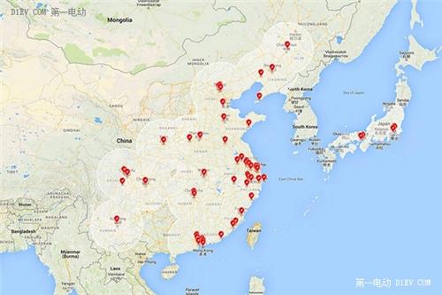 秦皇岛 地图  全国
