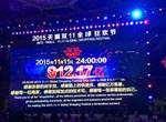 """【图表分析】""""双11""""LED照明灯饰行业在912.17亿交易额中的份量"""