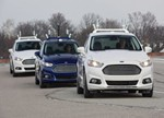 与谷歌一样 福特也想在2020年实现无人驾驶