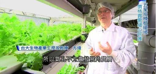 听专家讲解LED水耕蔬菜对养分的影响