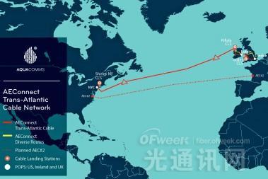 欧美海缆系统AEConnect将于下月底投产 全长5536千米