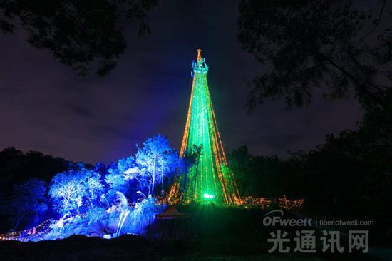 """广东联通""""沃4G+""""又玩新花样:""""基站树""""亮灯温情钜献【图】"""
