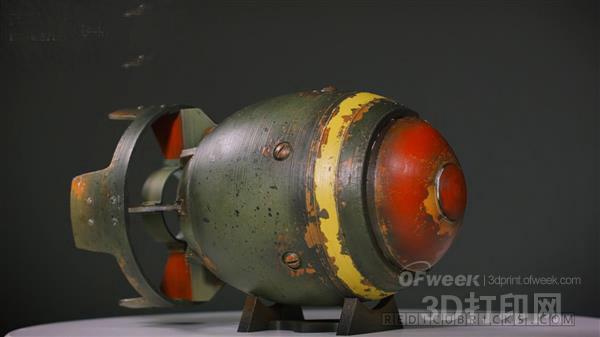 超级逼真的3D打印《辐射4》游戏道具