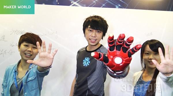 3D打印钢铁侠COS装备震撼现身