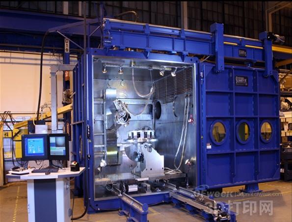 巨型超高速金属3D打印设备强势登陆中国
