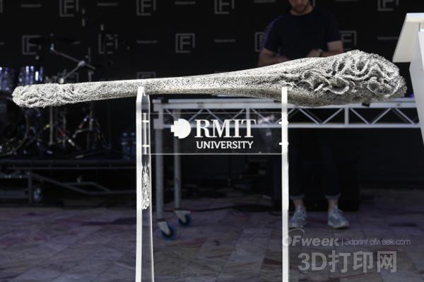 RMIT大学制造出精美绝伦的钛金属3D打印权杖
