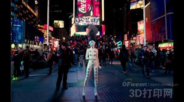 """欧美国家奇葩""""3D打印""""行为艺术风靡"""