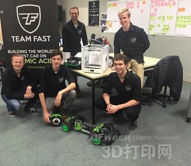 全球首款3D打印蚁酸动力汽车即将登场!