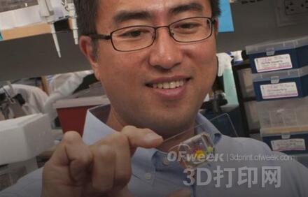 """大学生开发出带3D打印眼睑的""""芯片上的眼睛"""""""
