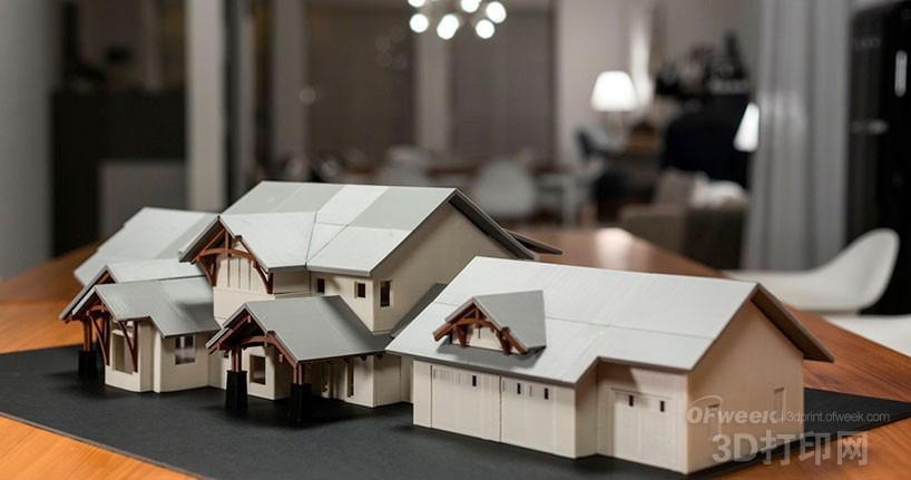 3d打印cad建筑模型