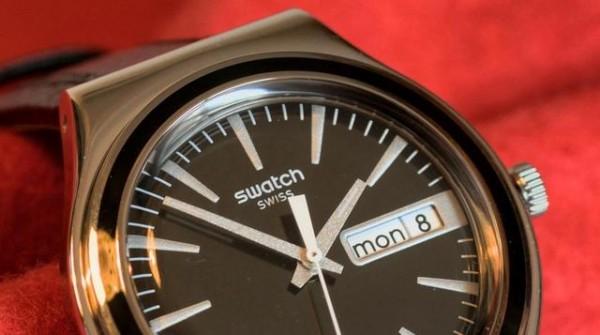 Swatch握多项智能手表专利