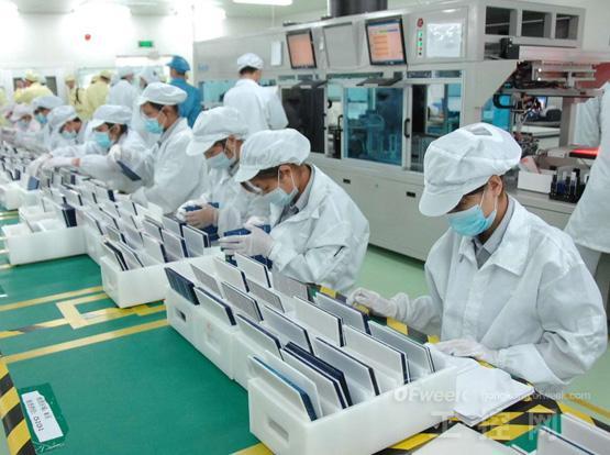 富士康工厂生产线