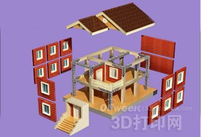 3D打印技术应用于农村自建房更安全