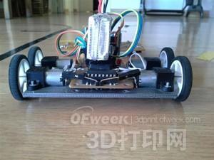 如何打造一辆3D打印线条追踪机器人?