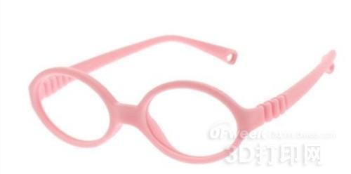 3D打印儿童眼镜亮相 掘出市场新商机