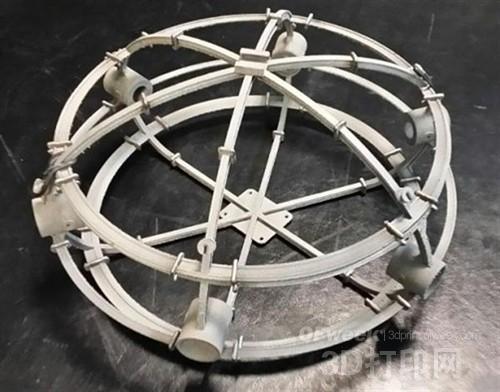 具有消防功能的3D打印无人机问世