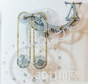 ZMorph混合3D打印机定制古典机械时钟