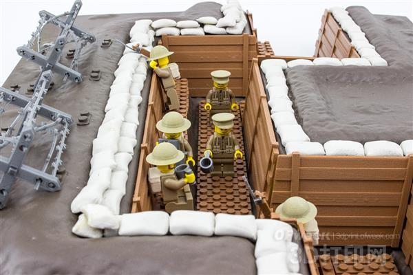 3D打印玩具再现第一次世界大战历史