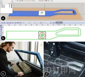 LaserStacker:用激光切割和焊接制造3D对象