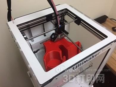 3D打印为轿车定制智能杯托和手机支架