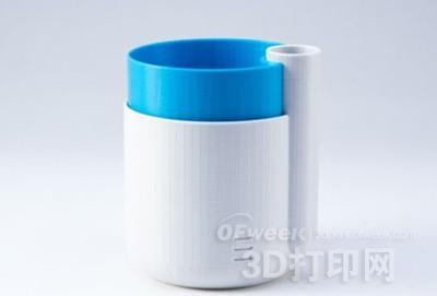 3D打印自动浇水花盆解决养花困扰