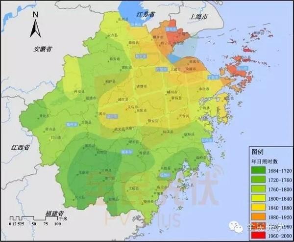 浙江地级市地图