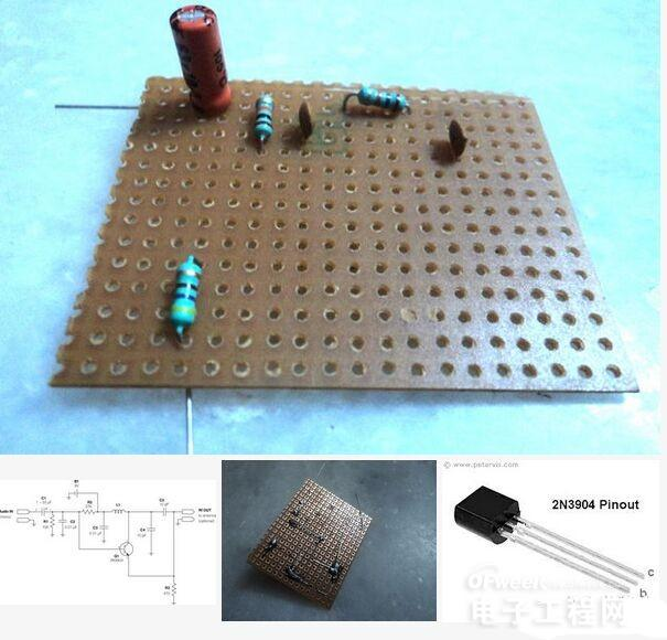 简单diy制作:仅需10步!就可造一个穿戴式调频发射器