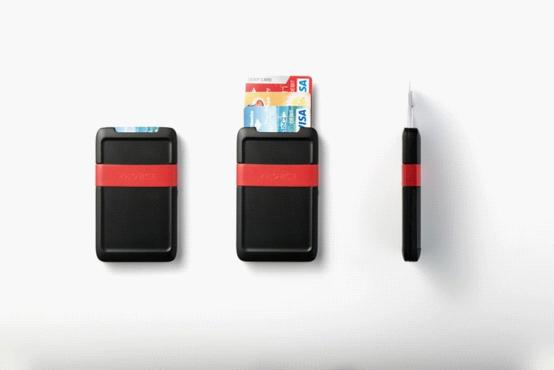 Pocket:既可以当钱包 又能做移动电源