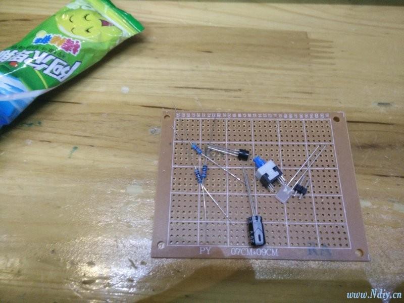 DIY制作:模电的电路美--呼吸灯