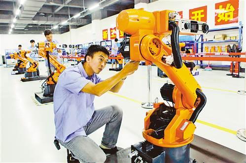 永川机器人及智能装备产业从无到有、快速崛起只用了短短一年多时间。