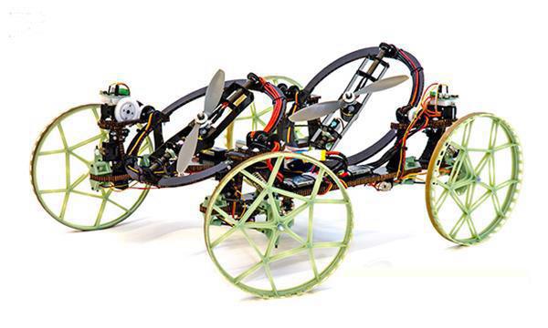 迪斯尼开发出3D打印机器人VertiGo可飞檐走壁