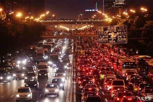 假如北京市收拥堵费