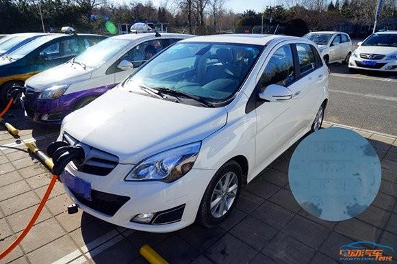 6款纯电动汽车冬季充电速度对比高清图片