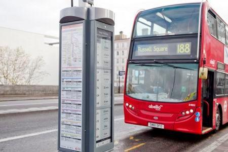 伦敦公交站牌都用上电子水墨屏了 E-Ink有多流行?
