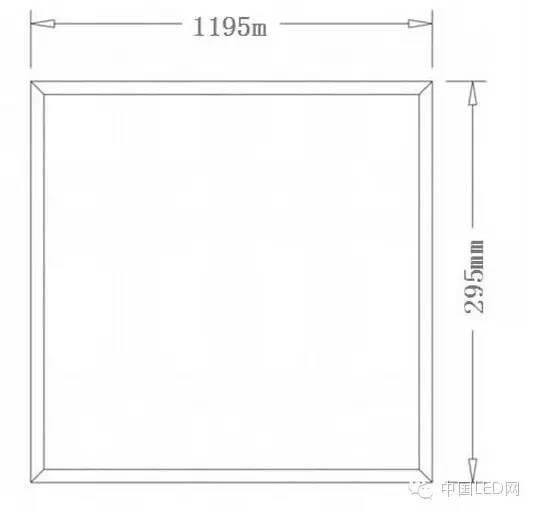 图文:LED面板灯有哪些尺寸?附生产流程图
