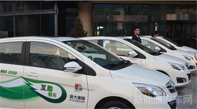 庞大集团携手北汽新能源推新能源车租赁业务