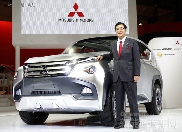 【车展前瞻】三菱GC-PHEV/起亚电动全轮驱动概念车将亮相