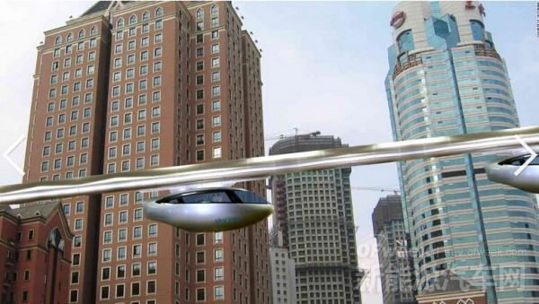 """""""空中汽车"""" 未来或成解决交通拥堵良方"""