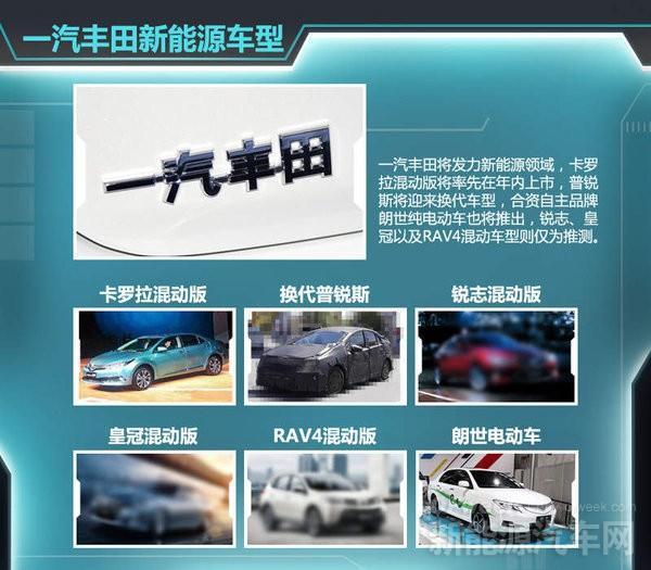比亚迪/北汽/一汽新能源汽车战略规划解读
