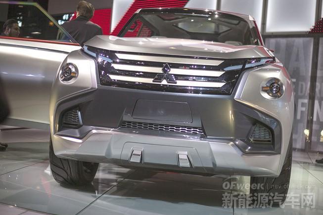 三菱GC-PHEV插电混动版SUV细节曝光