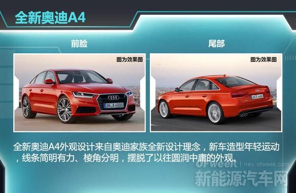 全新一代奥迪A4将搭载e-quattro混动四驱系统
