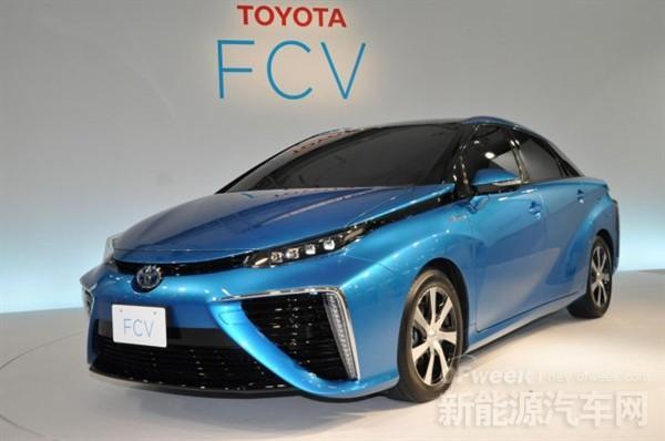 丰田氢燃料电池车MIRAI将入华 续航远超特斯拉Model S