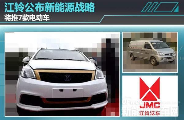 【独辟蹊径】江铃新能源汽车战略规划解读