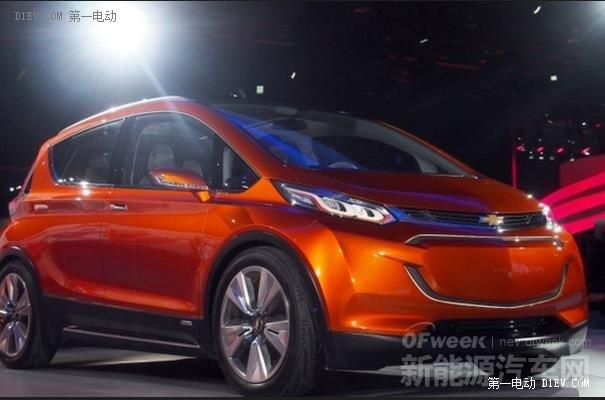 通用明年投产雪佛兰Bolt将与特斯拉Model 3竞争