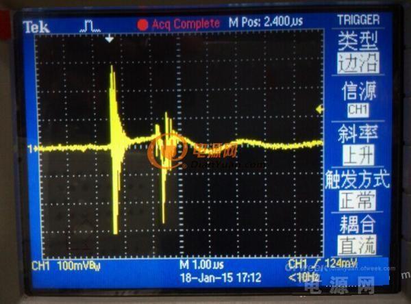 【解析】反激初级电流波形异常如何让解决?