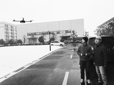 首款工业用多轴飞行器试飞续航达86分钟