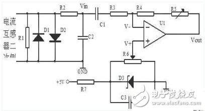 漏电保护测试系统电路原理分析
