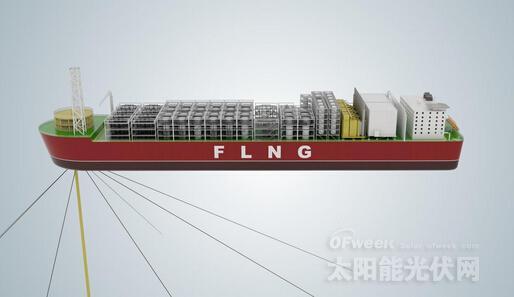 """该FLNG装置被命名为""""PFLNG2"""""""