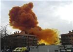 西班牙化工厂爆炸:天飘毒橙云!