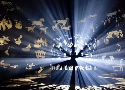 2015比利时根特LED灯光节光影惊艳全球(图)